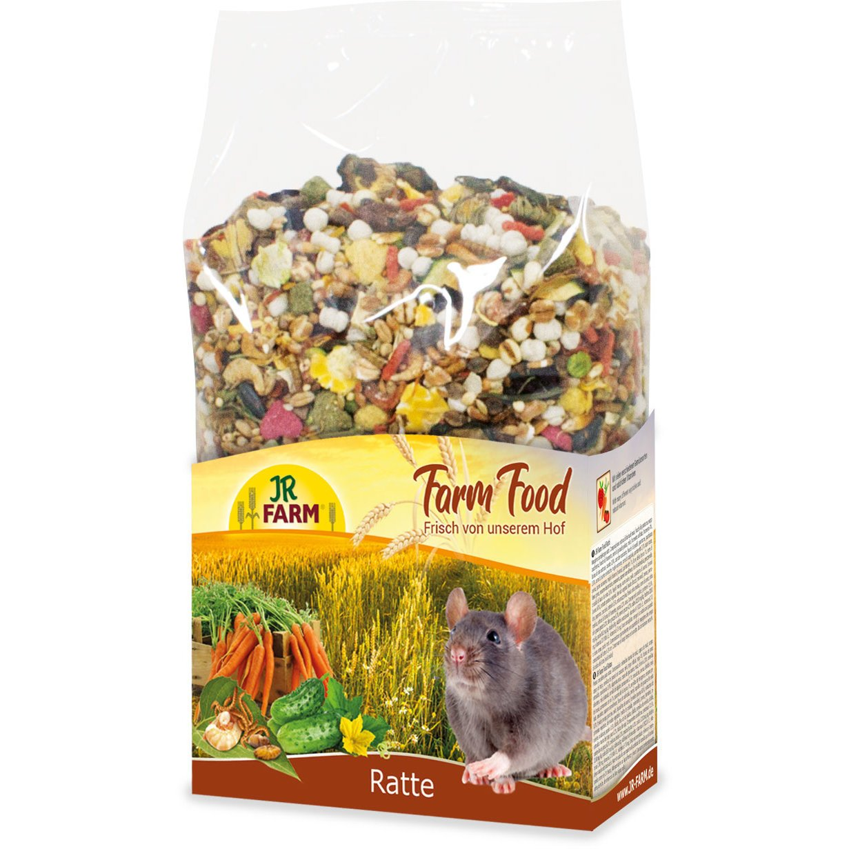 JR Farm Food Rattenfutter Adult, 500g