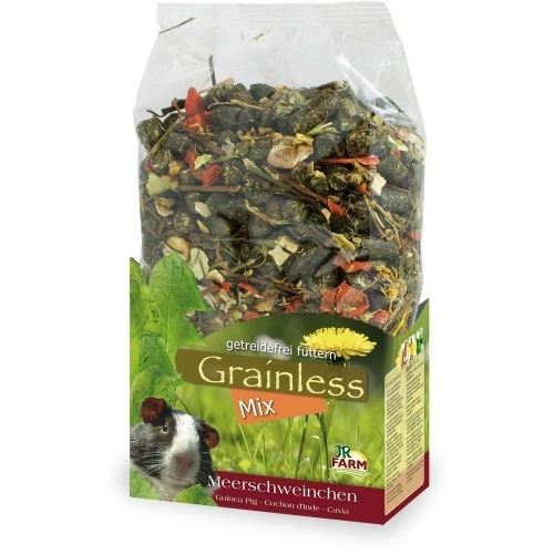 JR Farm Grainless Mix Meerschweinchenfutter, 650 g