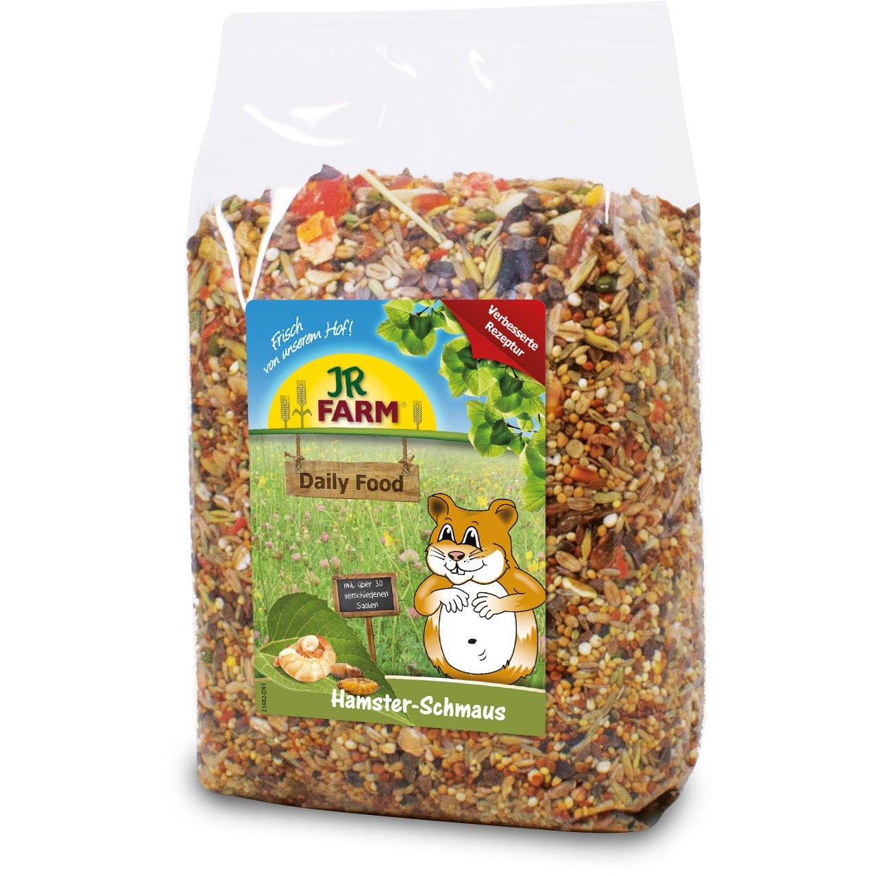 JR Farm Hamster-Schmaus Hamsterfutter, 600g