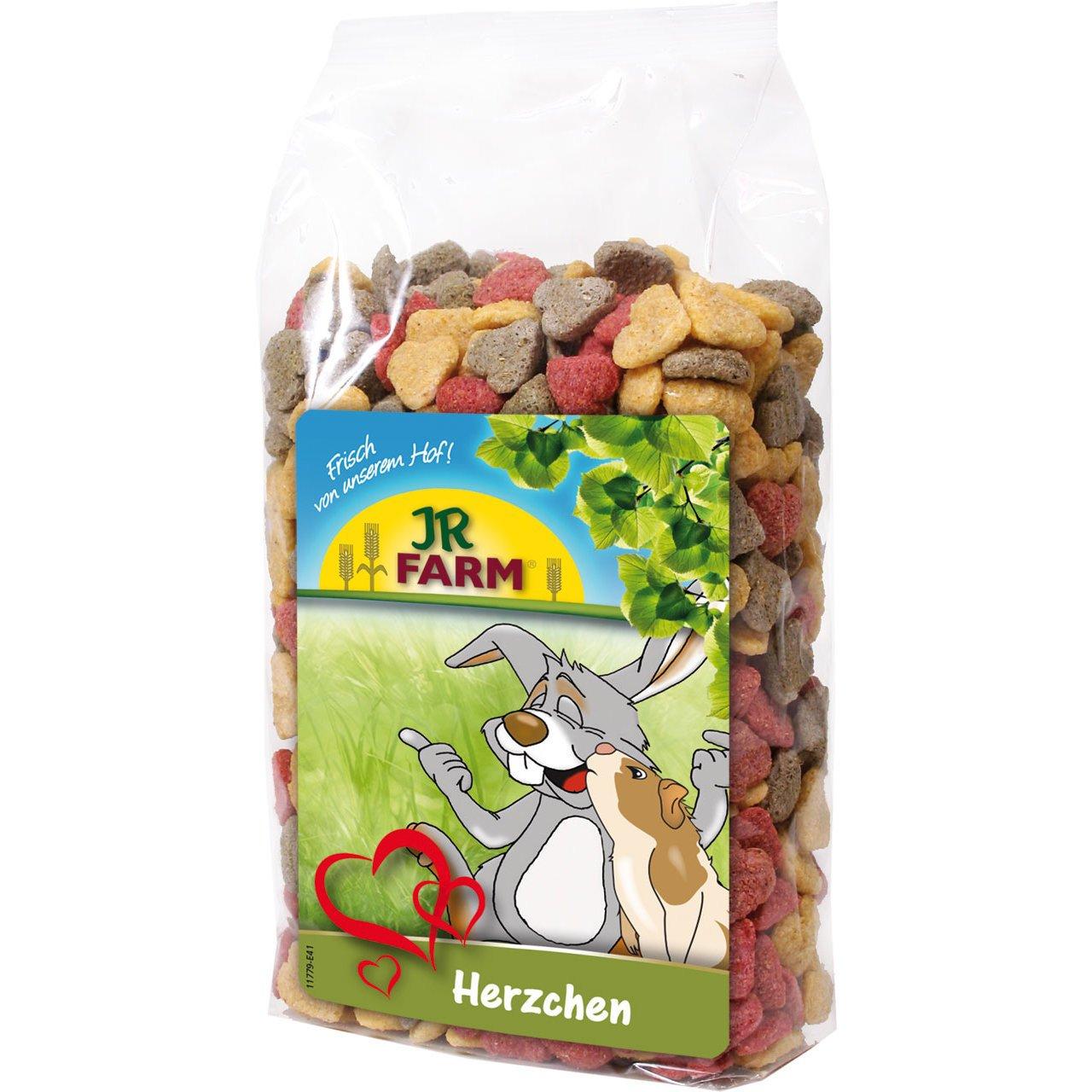 JR Farm Herzchen mit Luzerne, 200 g