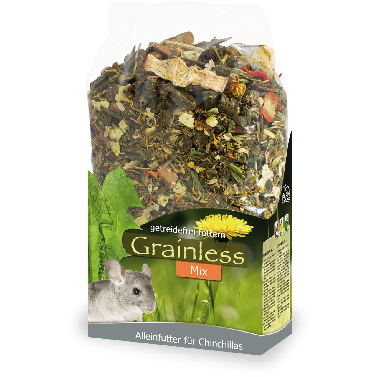 JR Farm JR Grainless Mix Chinchilla, 650 g