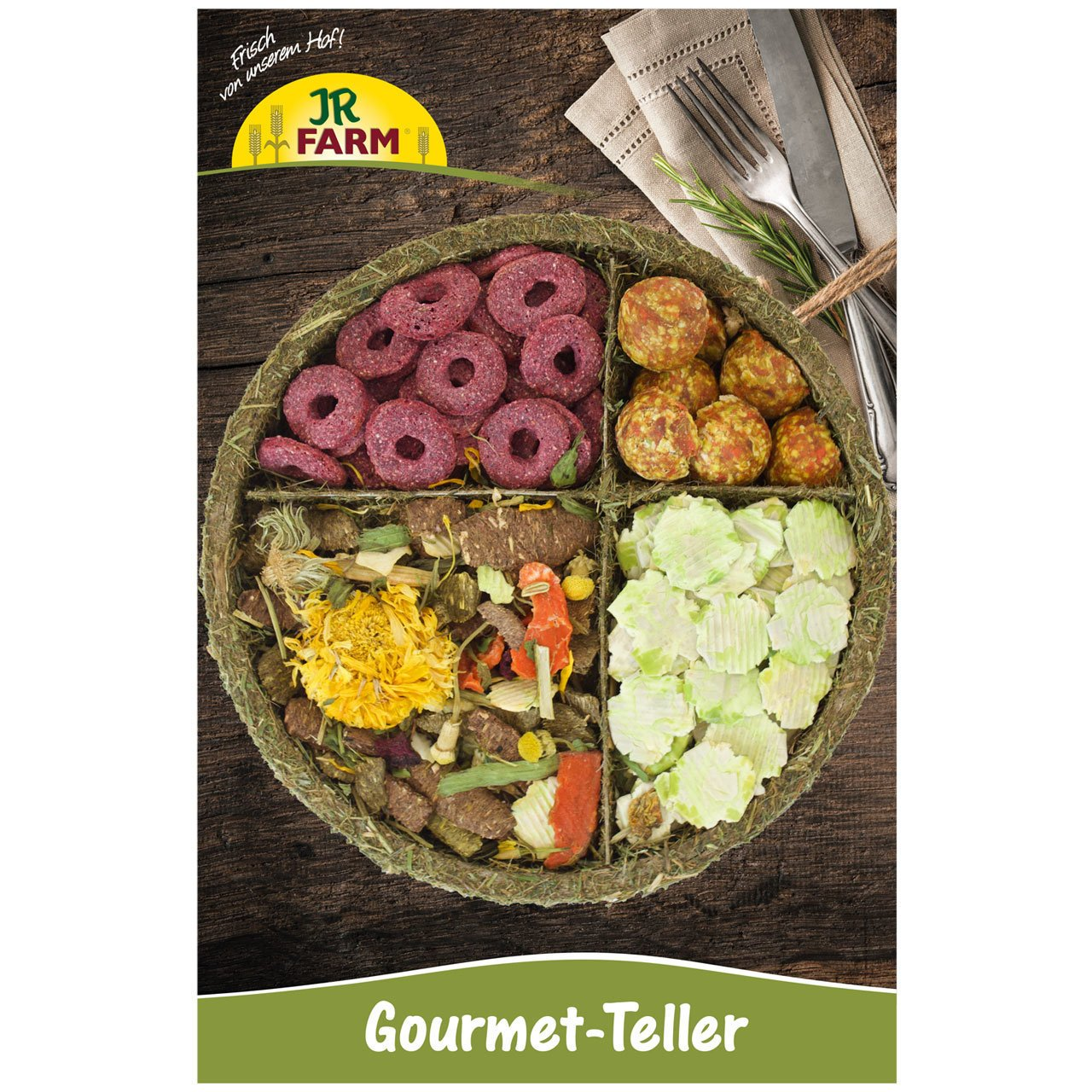 JR Farm Kleintier Snack Teller Preview Image