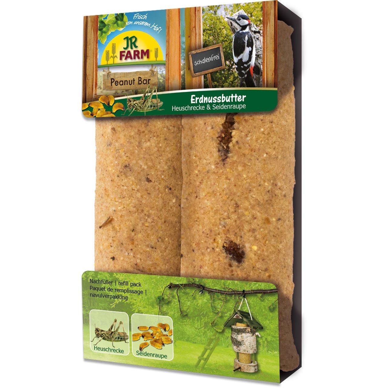 JR Farm Peanut Bar 2er-Pack Heuschrecke und Seidenraupe
