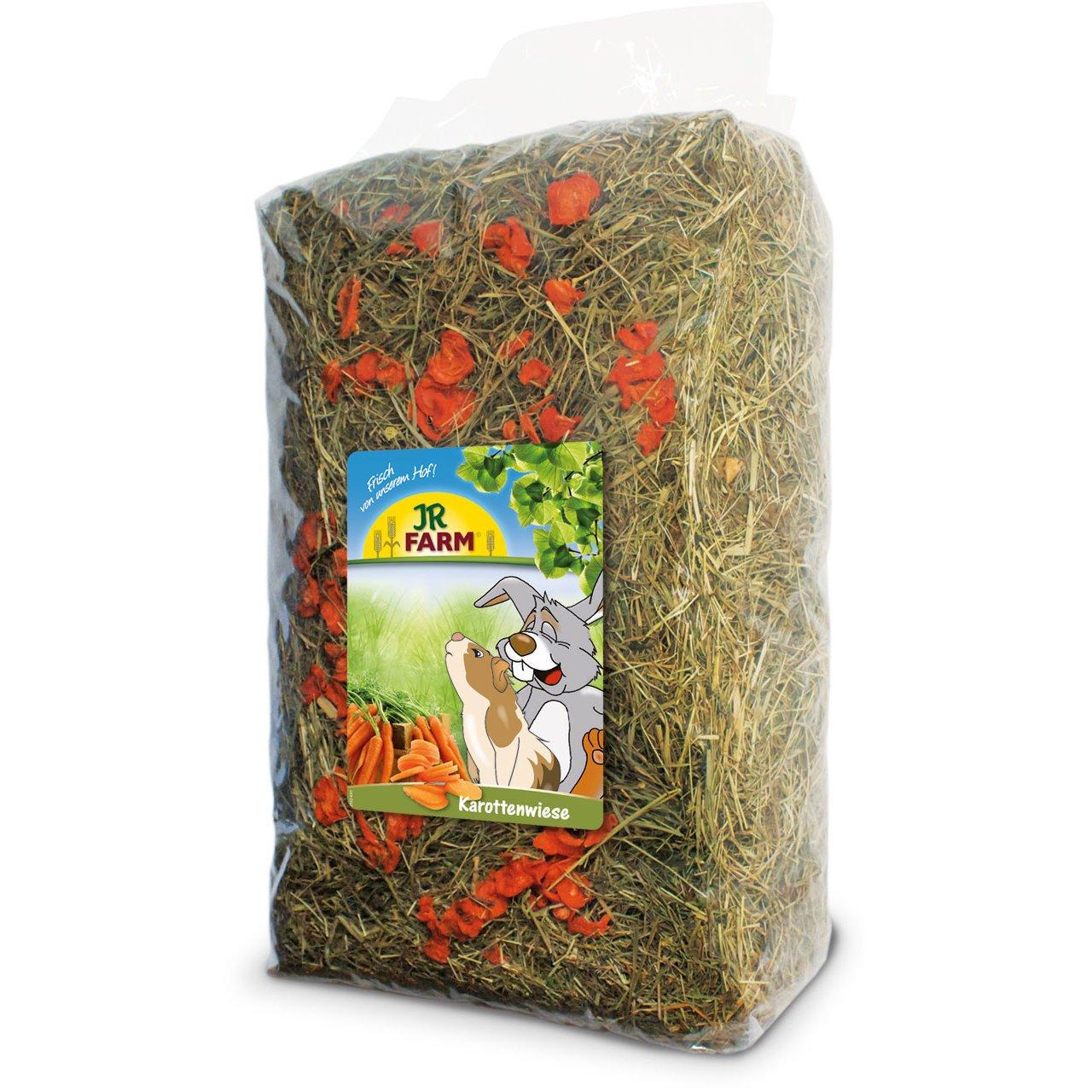 JR Farm Premium Heu Kräuterwiese, Karottenwiese, 1,5 kg