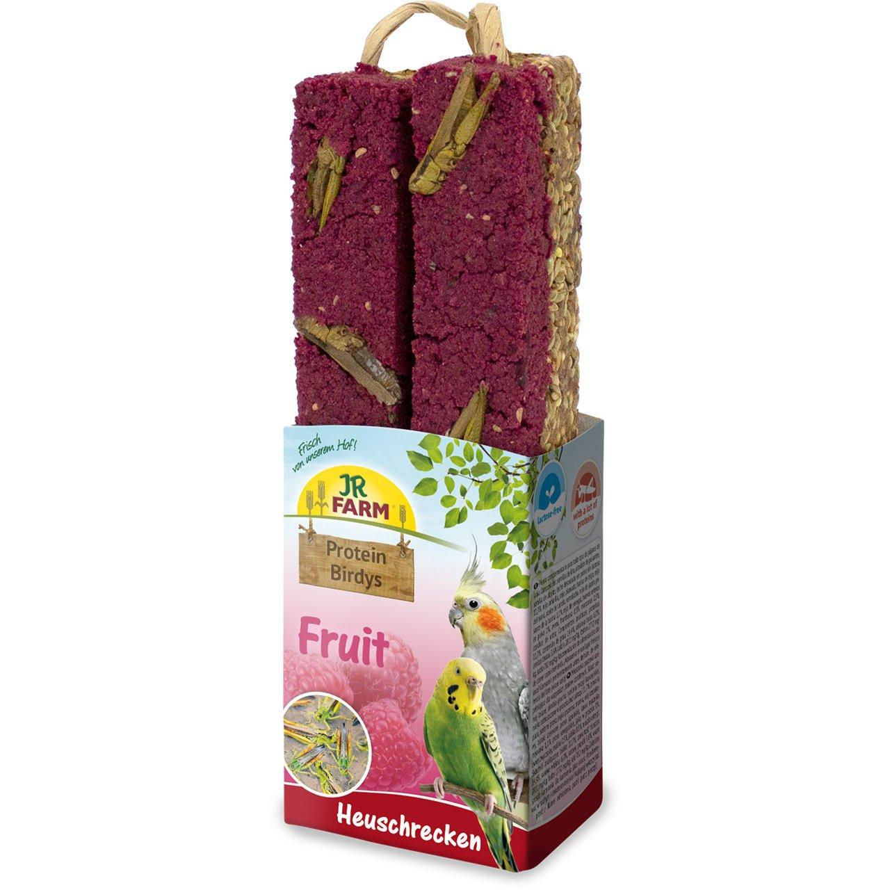 JR Farm Protein Birdys, Fruit Heuschrecken 150g