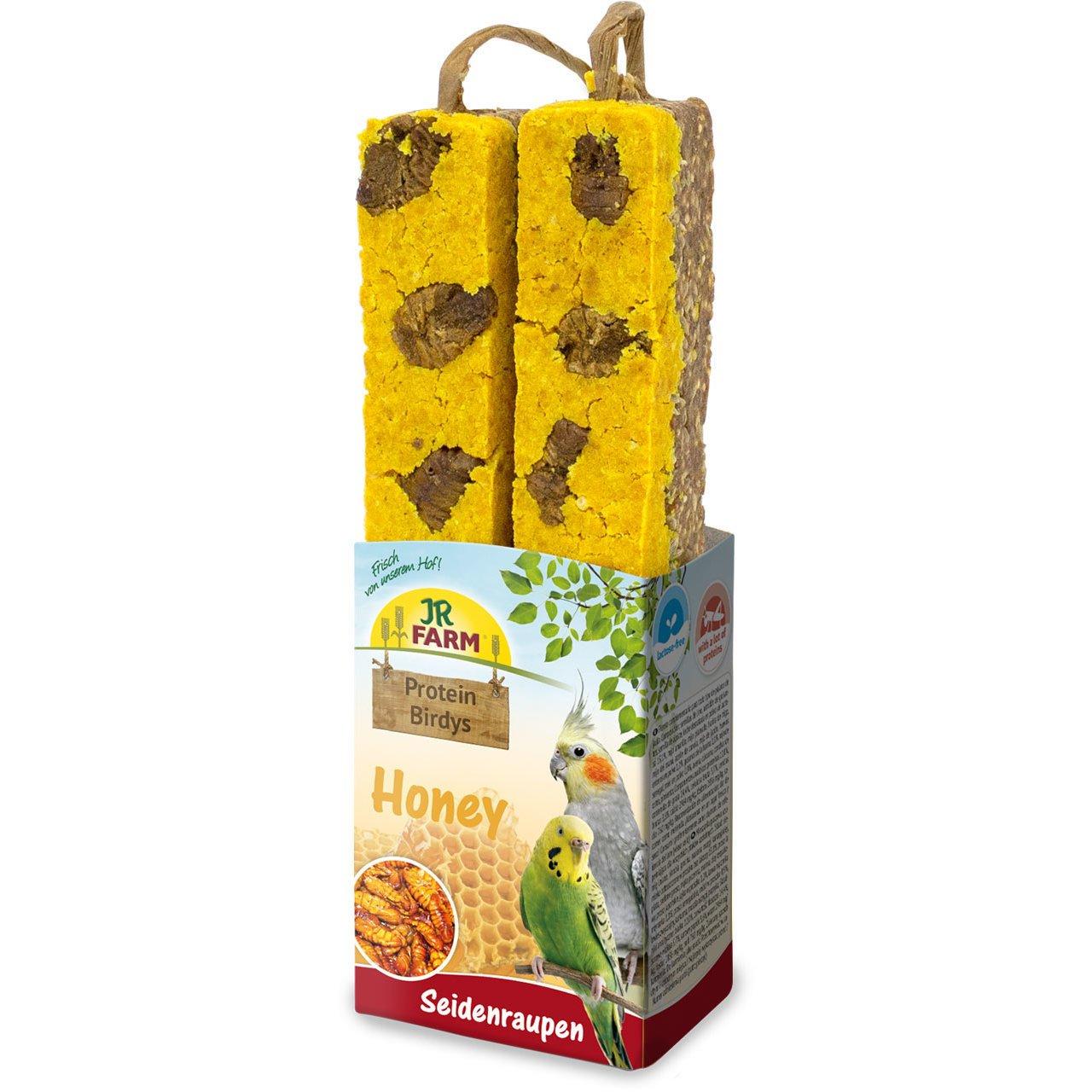 JR Farm Protein Birdys, Honey Seidenraupen 150g