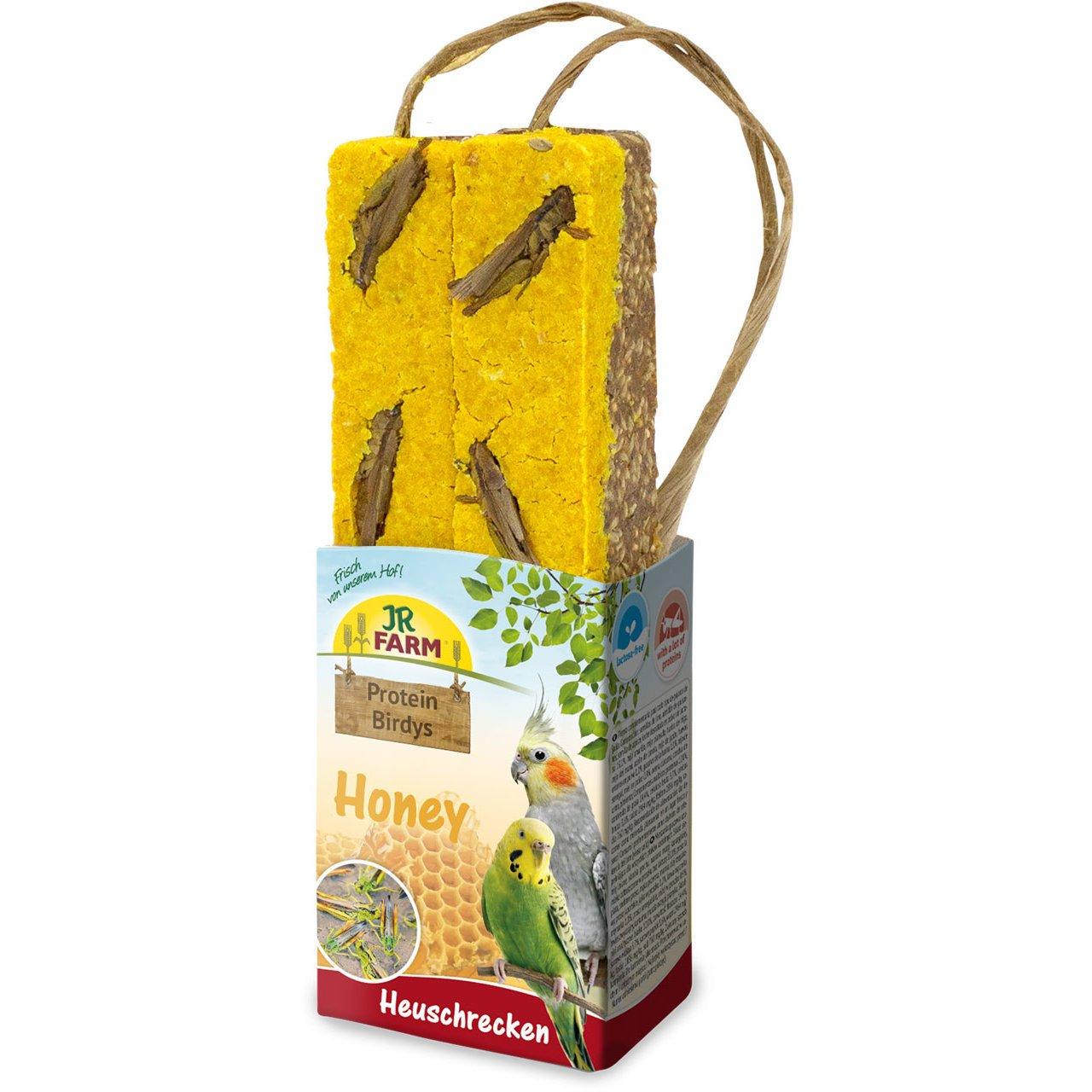 JR Farm Protein Birdys, Honey Heuschrecken 150g