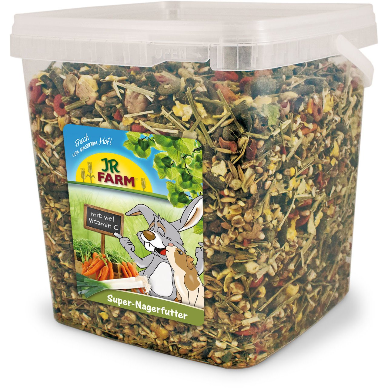 JR Farm Super-Nagerfutter, 5 l Eimer (2,5kg)