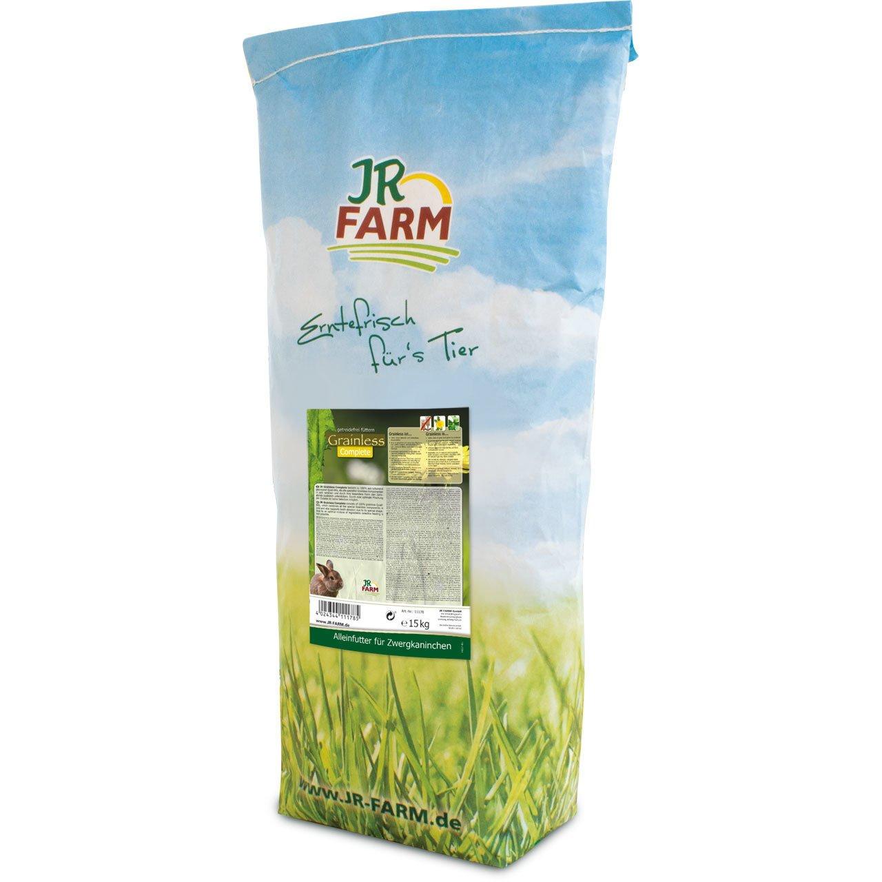 JR Farm Zwergkaninchen Futter Grainless Complete, Bild 4