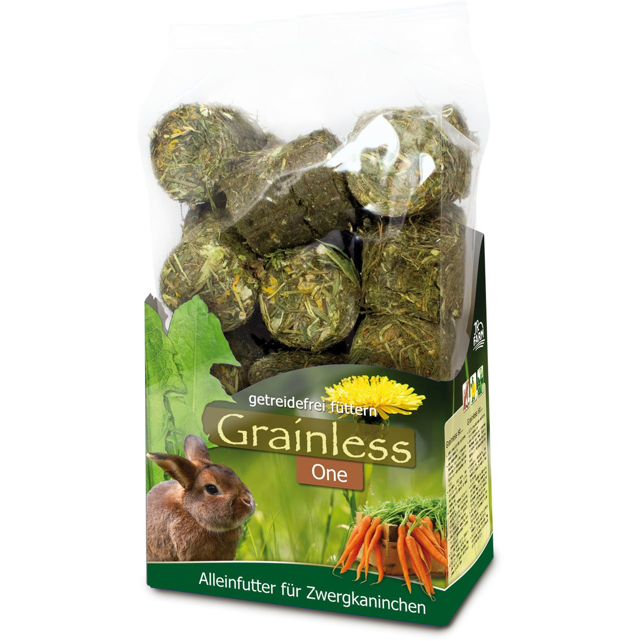 JR Farm JR Grainless One Zwergkaninchen, 950 g