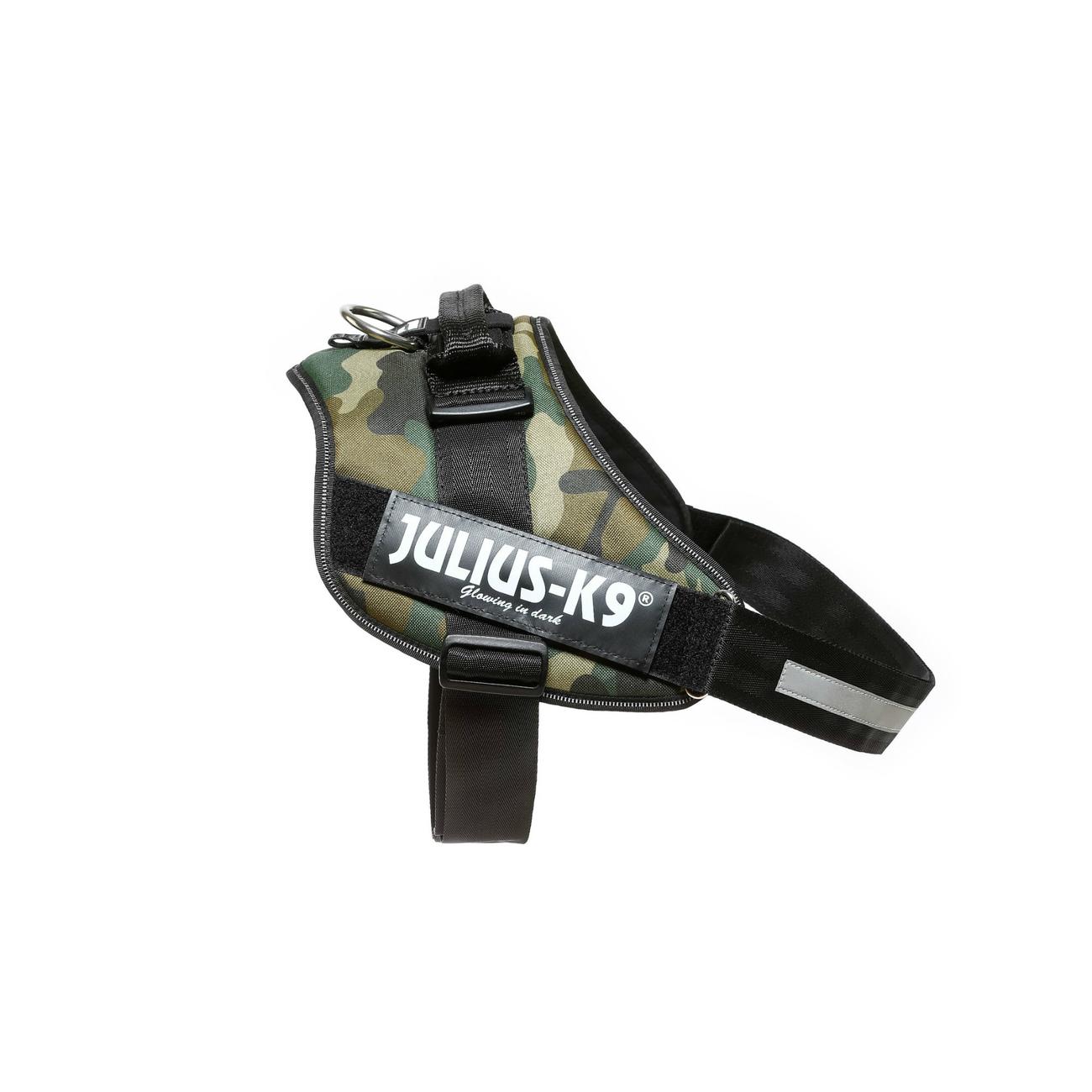 Julius K9 IDC® Powergeschirr® für Hunde, Mini: Brust 51-67 cm, Hundegewicht 7-15 Kg, camouflage