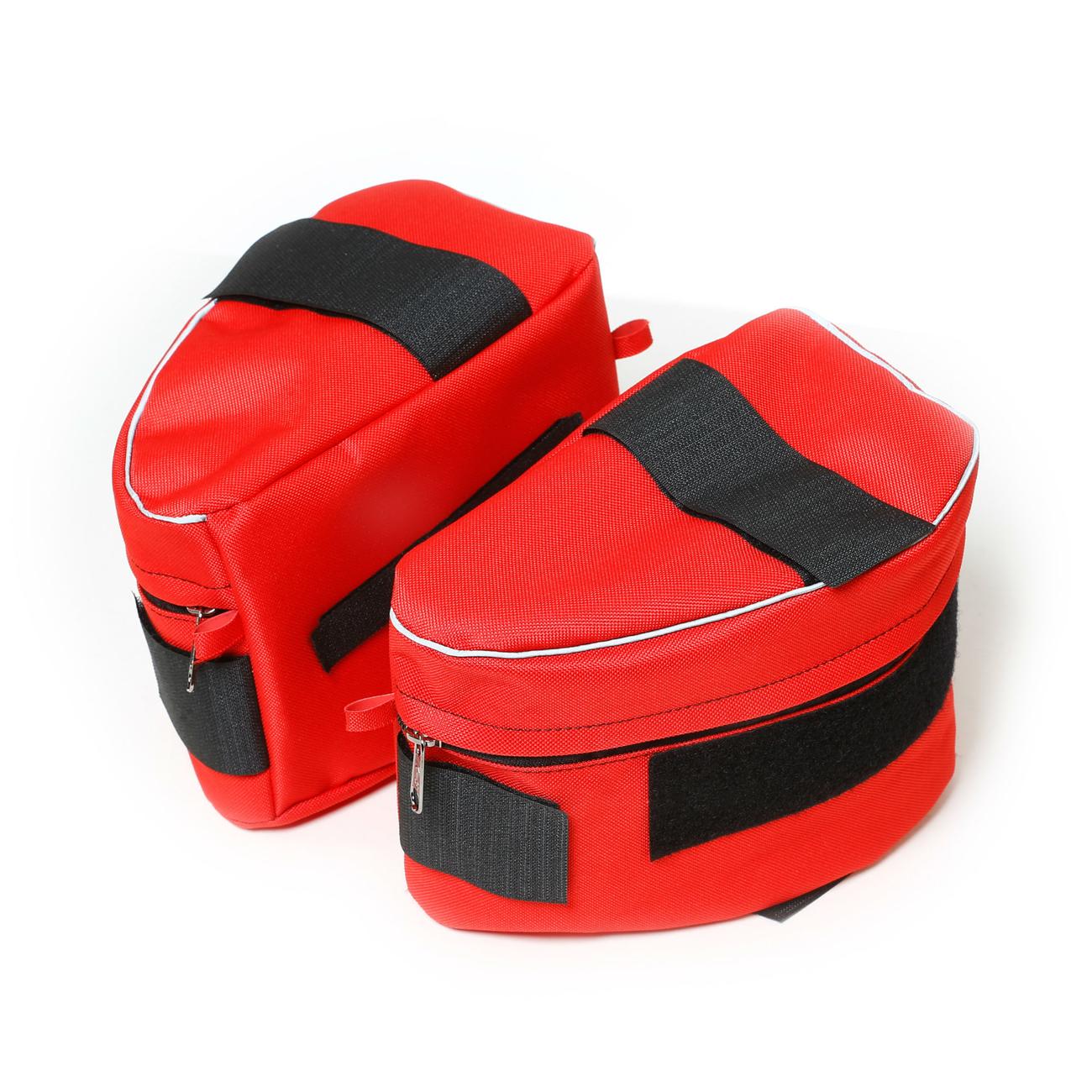 Julius K9 IDC-Seitentaschen IDC-Powergeschirr, für Gr. 3-4 Rot