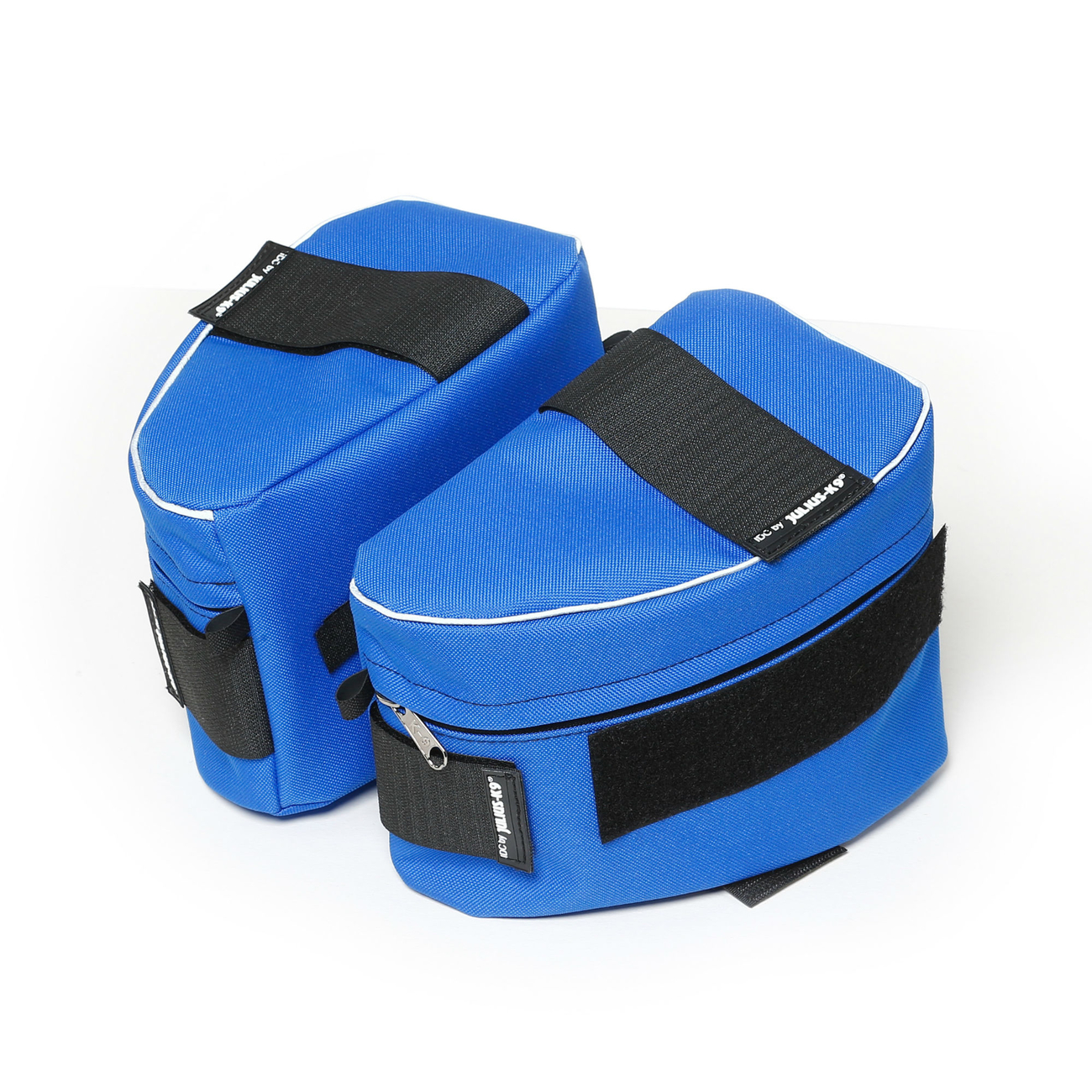 Julius K9 IDC-Seitentaschen IDC-Powergeschirr, für Gr. 3-4 Blau