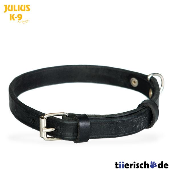 Julius K9 Lederhalsband genietet