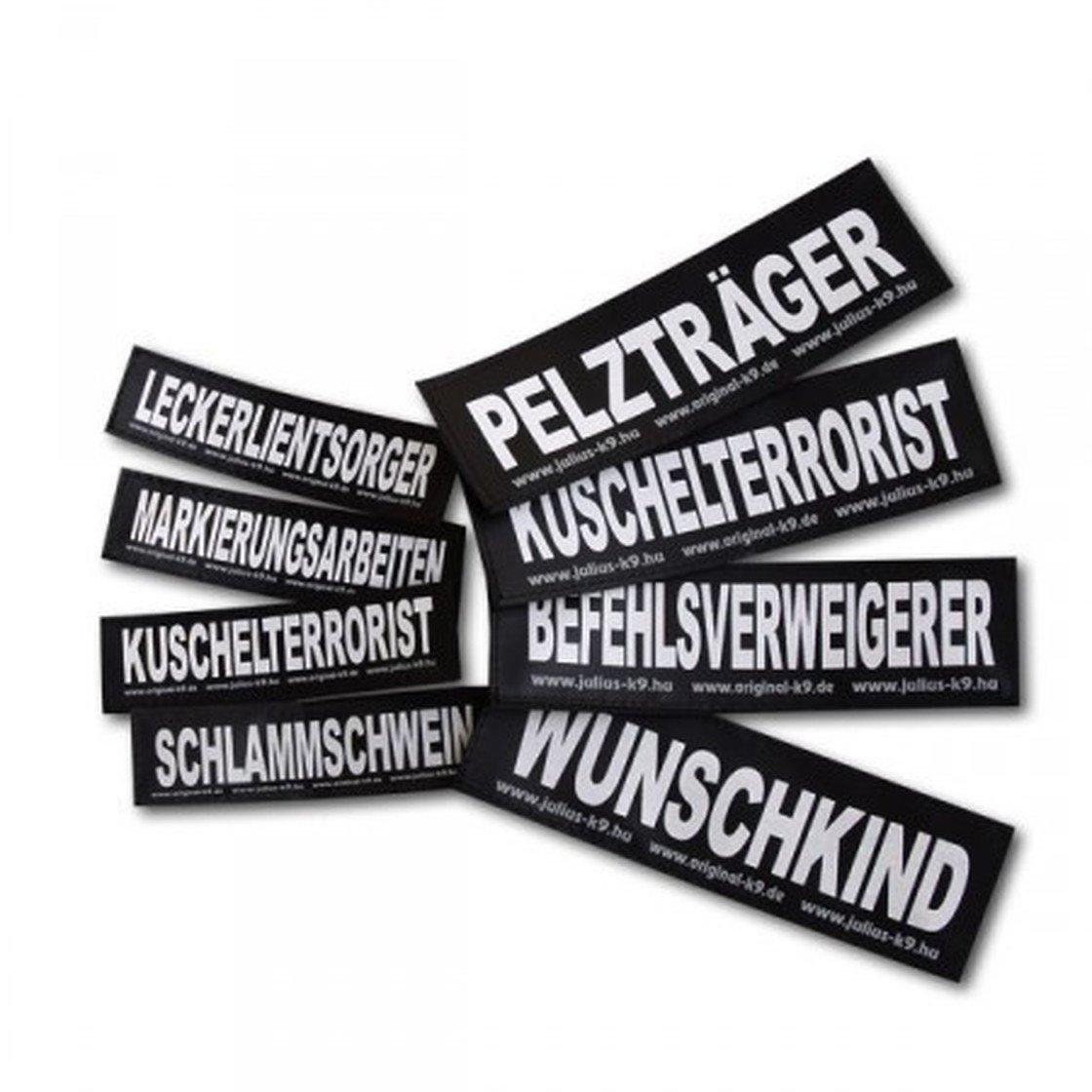 Julius K9 Logo Klettsticker groß G-L, Bild 69