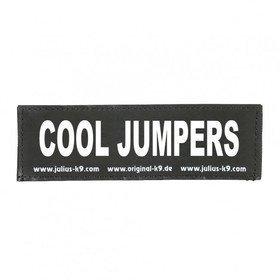 Julius K9 Logo Klettsticker klein A - F, COOL JUMPERS