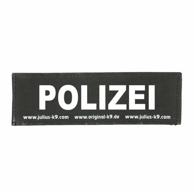 Julius K9 Logo Klettsticker klein M - Z, POLIZEI