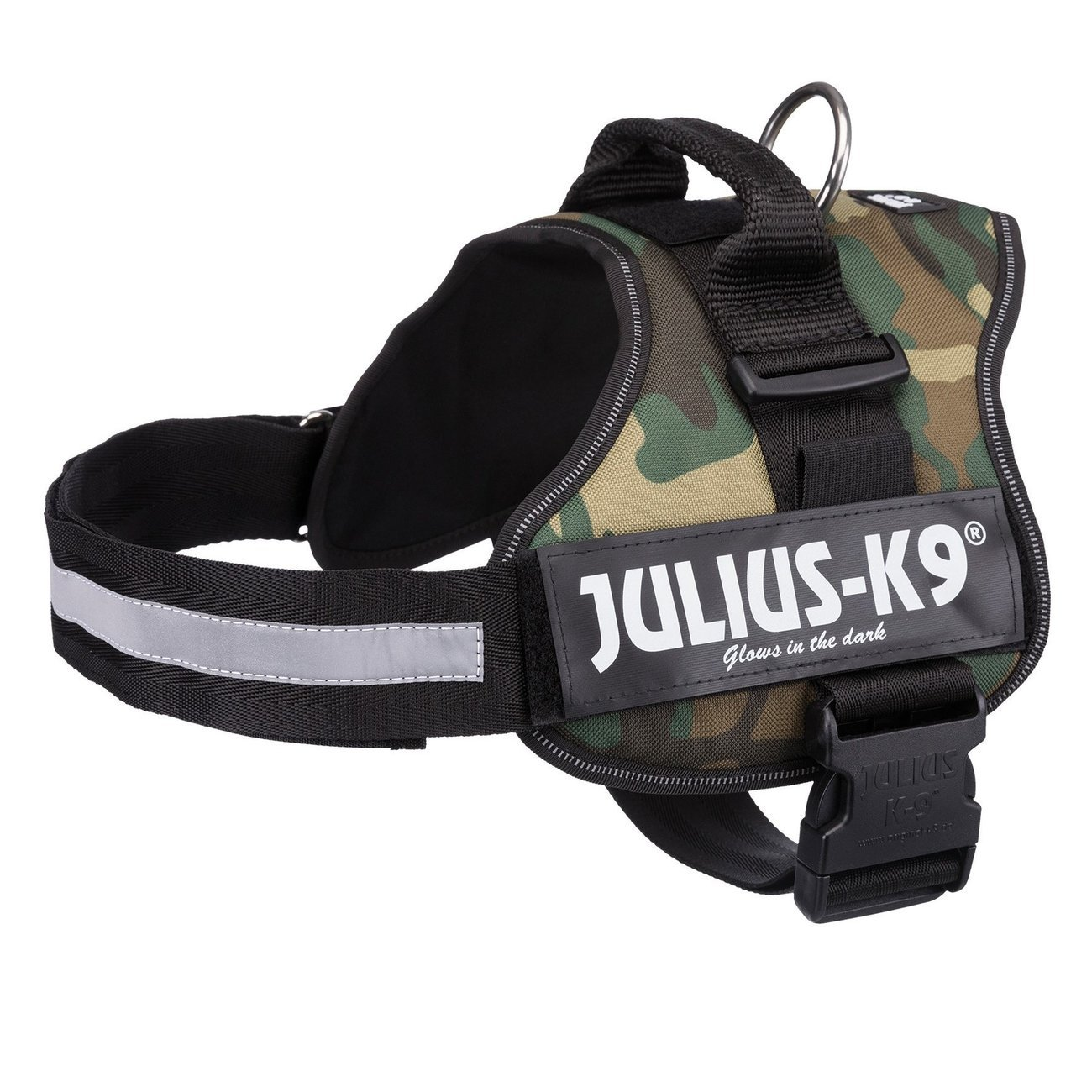 Julius K9 Powergeschirr Hundegeschirr, Mini M: Brust 51-67 cm, camouflage