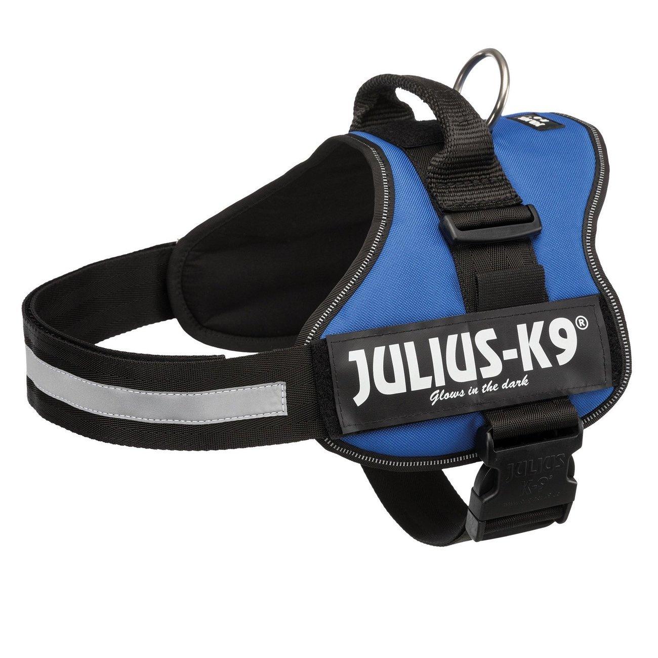 Julius K9 Powergeschirr Hundegeschirr, Gr. 3/XL–XXL: 82–116 cm/50 mm, indigo