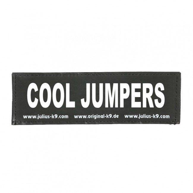 Julius K9 Logo Klettsticker groß A - F, COOL JUMPERS