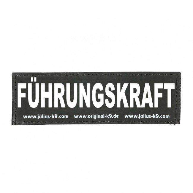 Julius K9 Logo Klettsticker groß A - F, Bild 51