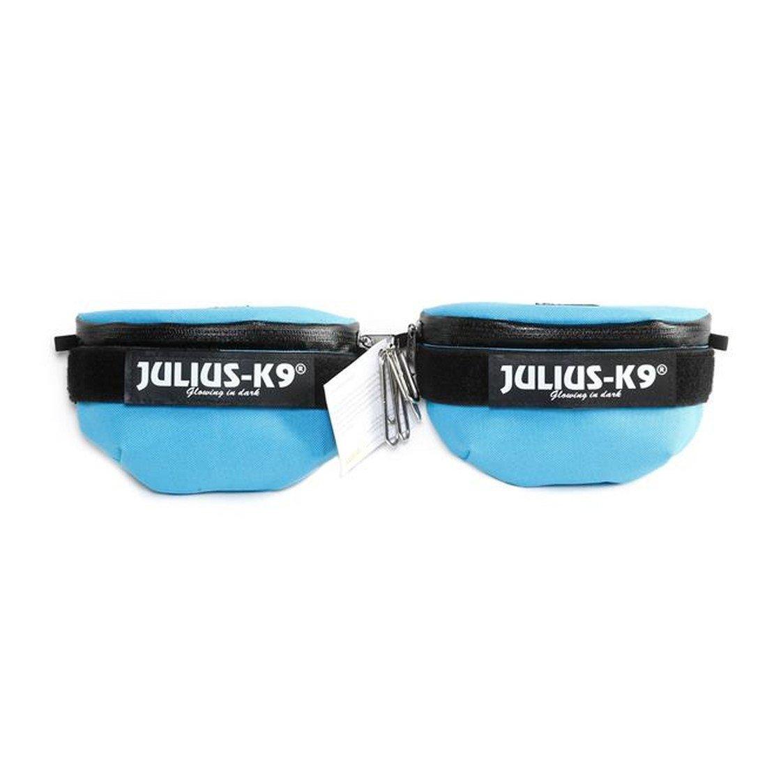 Universal Seitentasche für Julius K9 IDC-Geschirre, Mini - Gr. 4, aquamarine