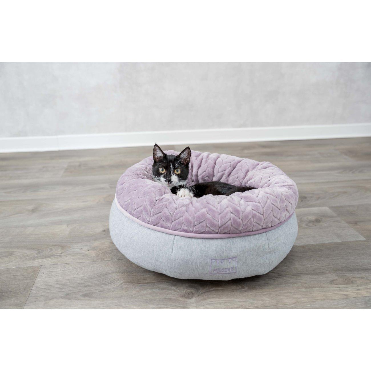 TRIXIE Junior Bett aus Plüsch für Welpen rund 38251, Bild 3