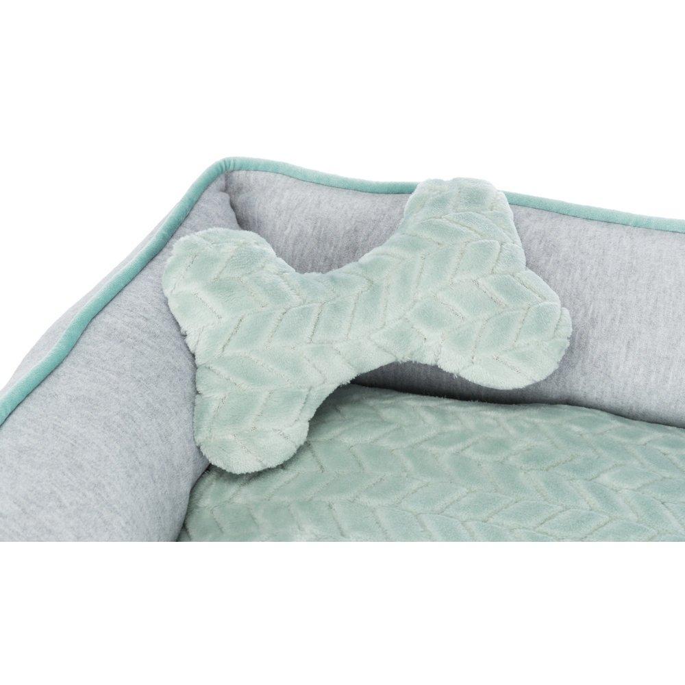 TRIXIE Junior Bett aus Plüsch für Welpen eckig 38250, Bild 4