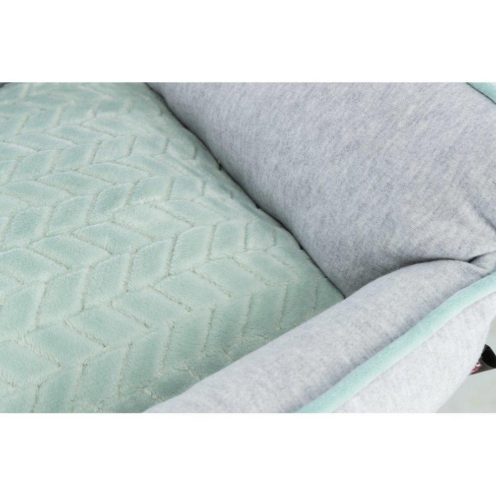 TRIXIE Junior Bett aus Plüsch für Welpen eckig 38250, Bild 5
