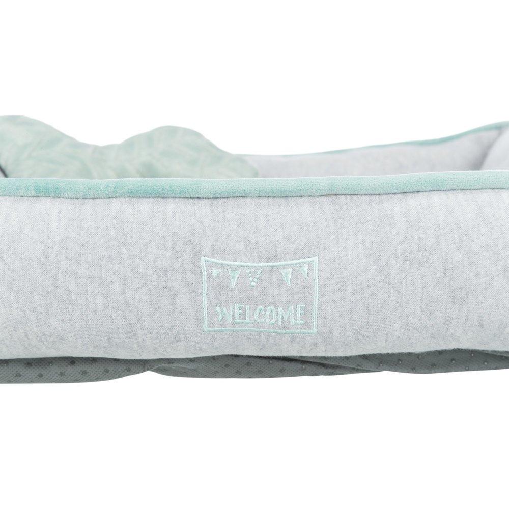 TRIXIE Junior Bett aus Plüsch für Welpen eckig 38250, Bild 6