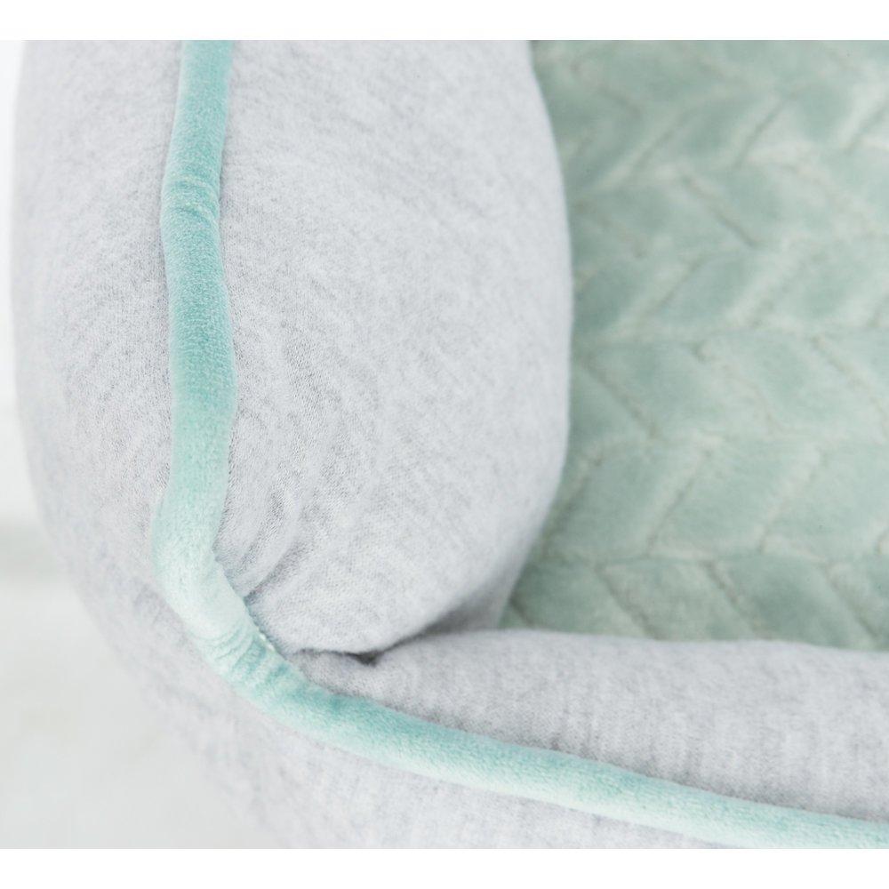 TRIXIE Junior Bett aus Plüsch für Welpen eckig 38250, Bild 7