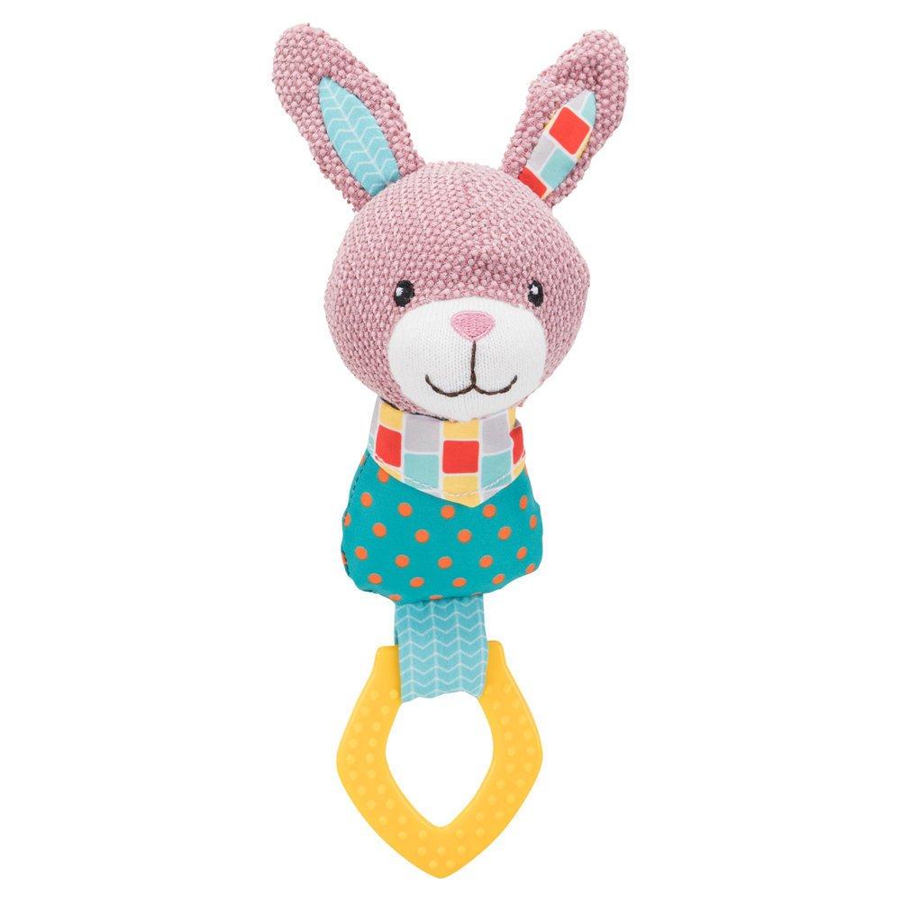 TRIXIE Junior Hase Ring mit Stimme für Welpen 36172