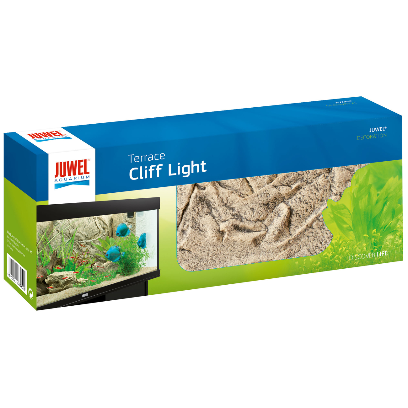 JUWEL Aquarium Deko Terrace, Cliff Light, 35 x 14 x 7,5 cm
