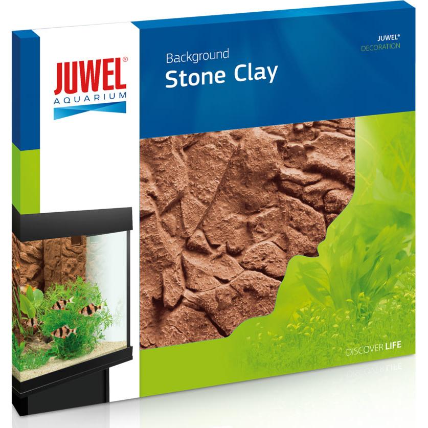Juwel Aquarium Rückwand 3d, 60 x 55 x 3 cm, Stone Clay