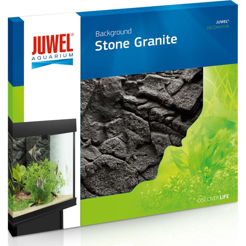 Juwel Aquarium Rückwand 3d, 60 x 55 x 3 cm, Stone Granite