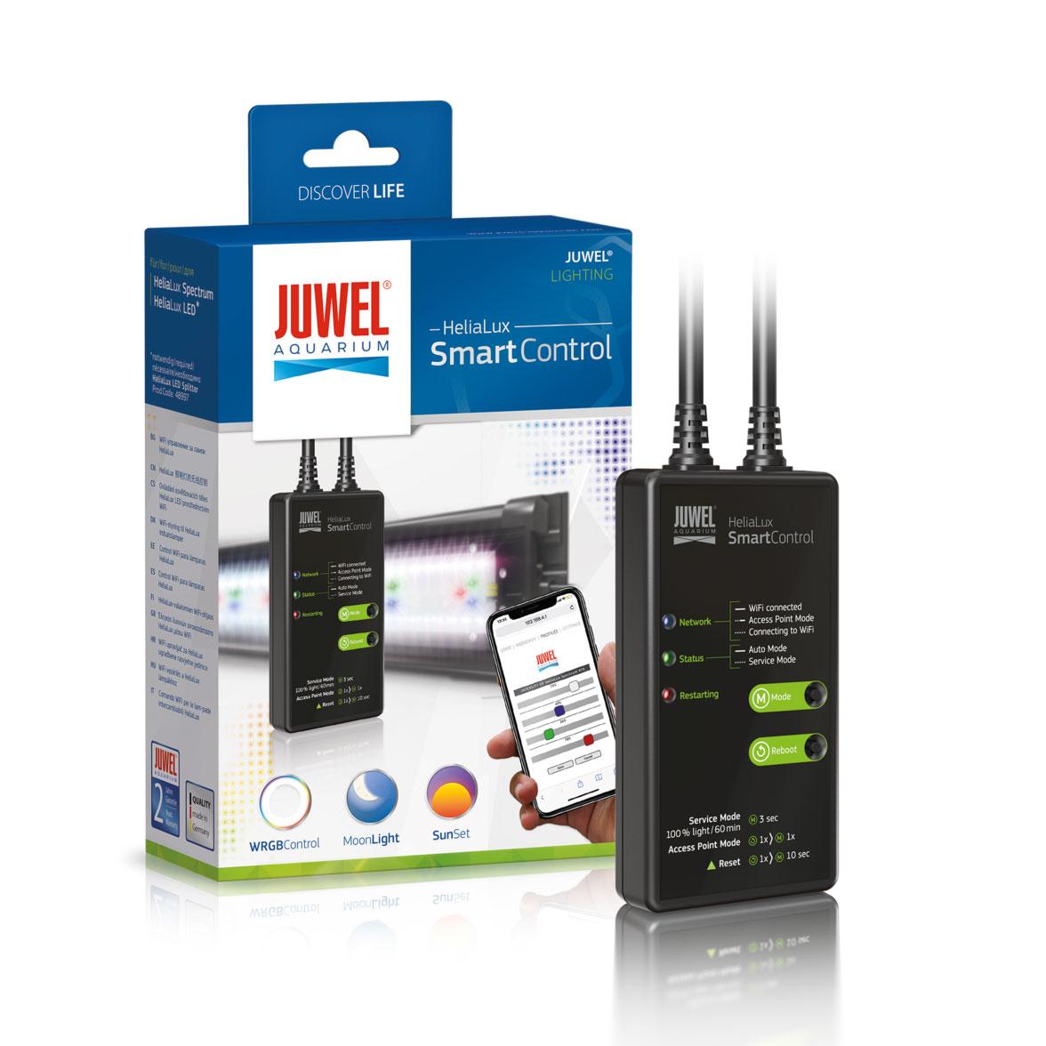 Juwel HeliaLux SmartControl Spectrum WLAN, Steuerungssystem