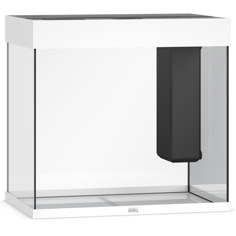 JUWEL Lido 120 LED Aquarium, 120 Liter, weiß