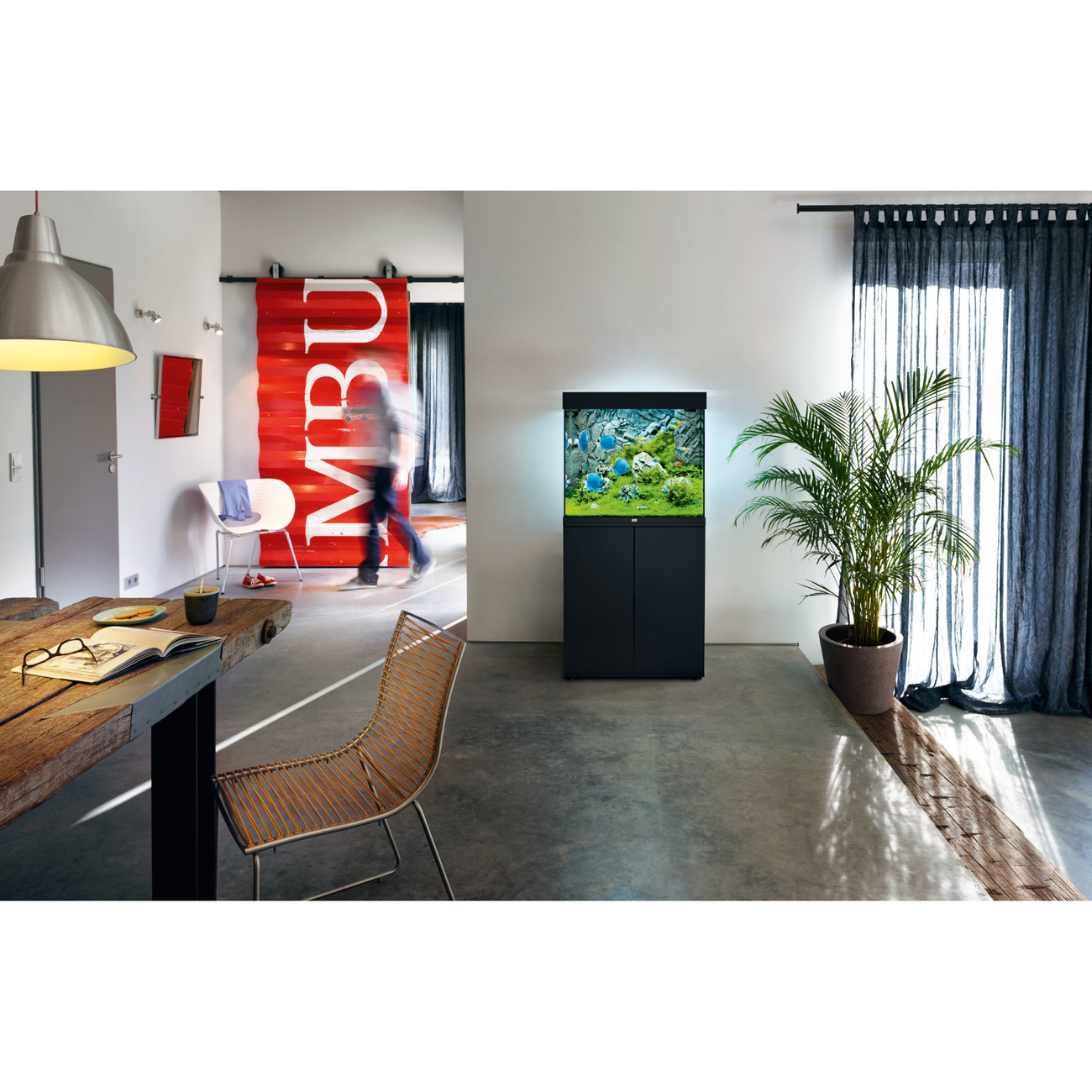 Juwel Lido 200 LED Aquarium mit Unterschrank, Bild 3