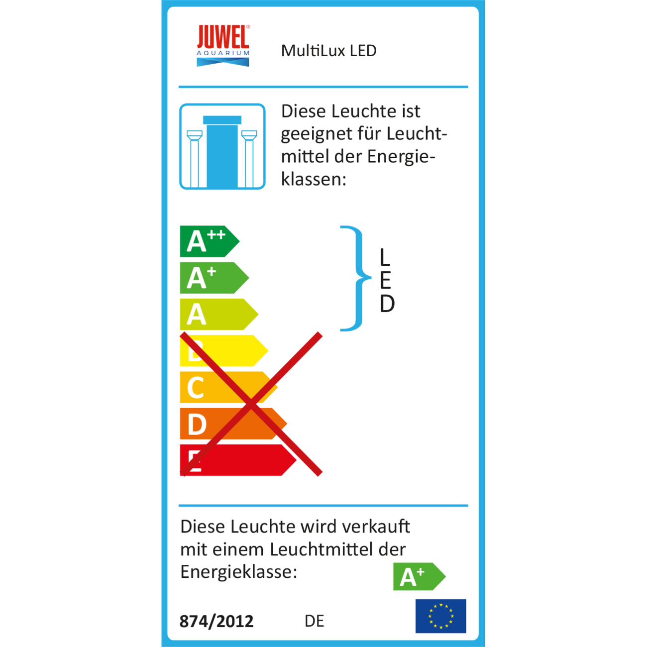Juwel MultiLux LED Einsatzleuchte Aquarium, Bild 3