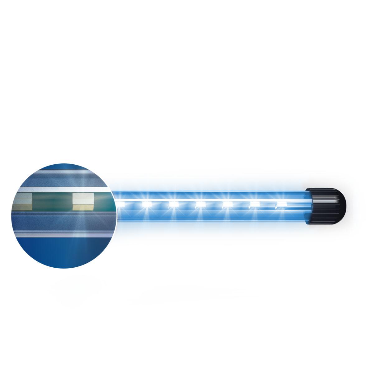 JUWEL NovoluxLED Aquarium Zusatzbeleuchtung, 40 blau, 5 Watt, 38,5 cm, 345 Lumen