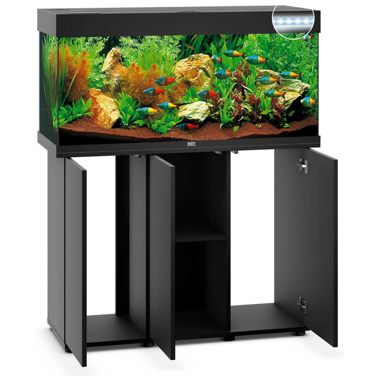 Juwel Rio 180 LED Aquarium mit Unterschrank SBX, Bild 2