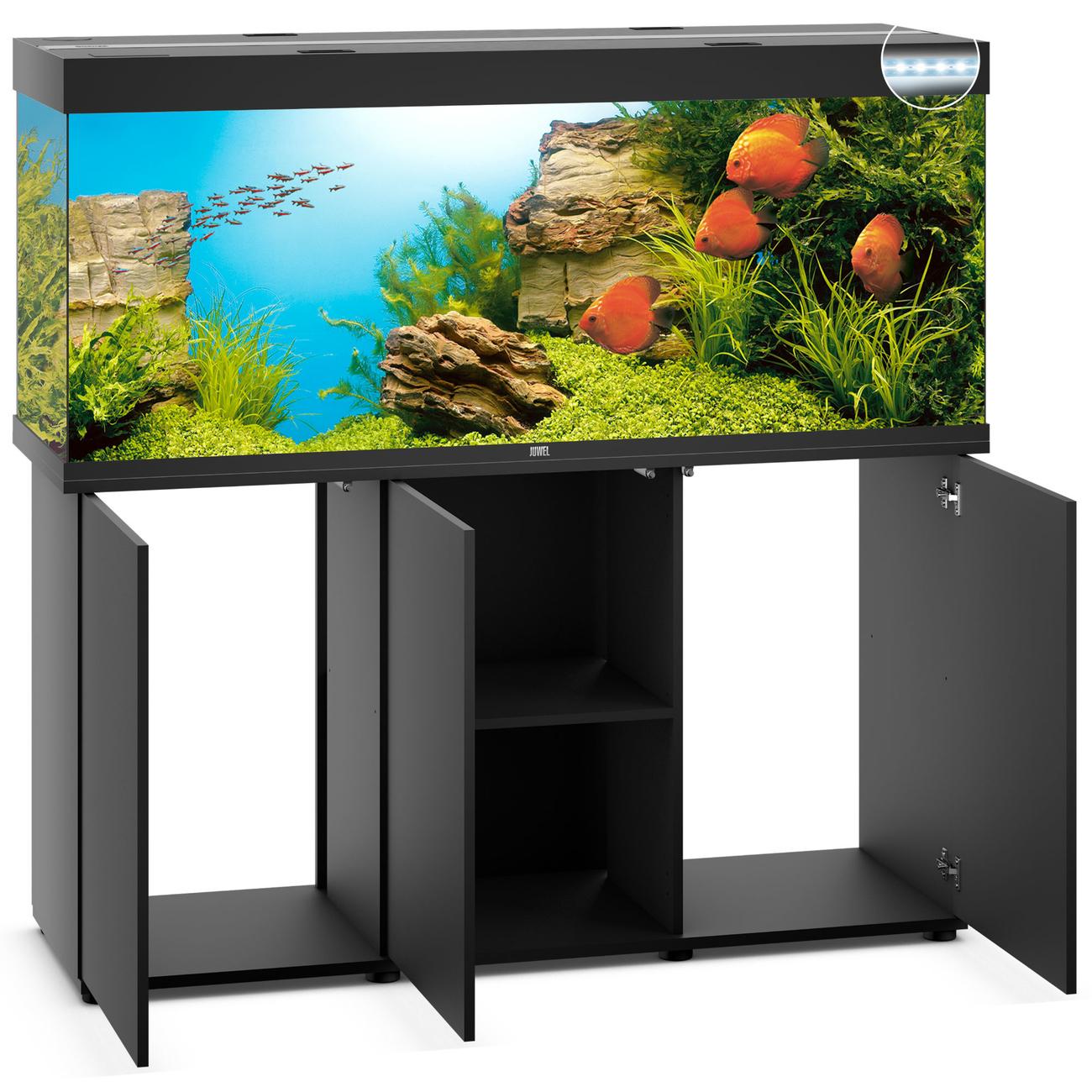 Juwel Rio 450 LED Aquarium mit Unterschrank, Bild 2