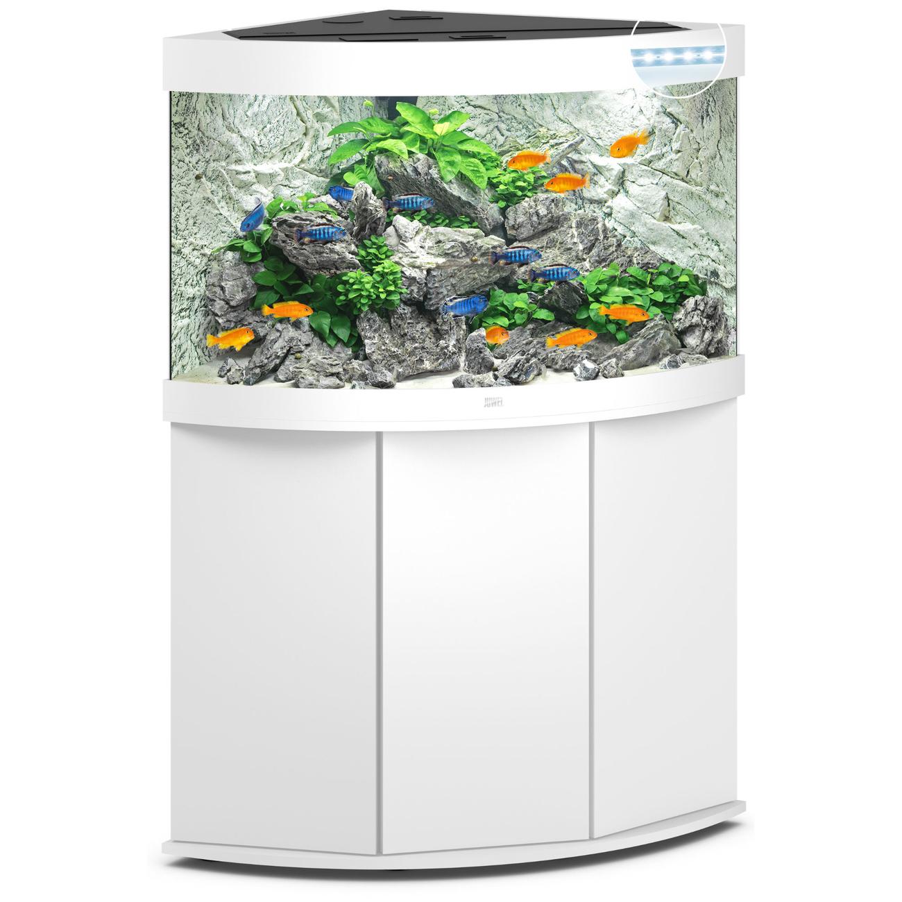 Juwel Trigon 190 LED Eck-Aquarium mit Unterschrank, Bild 7
