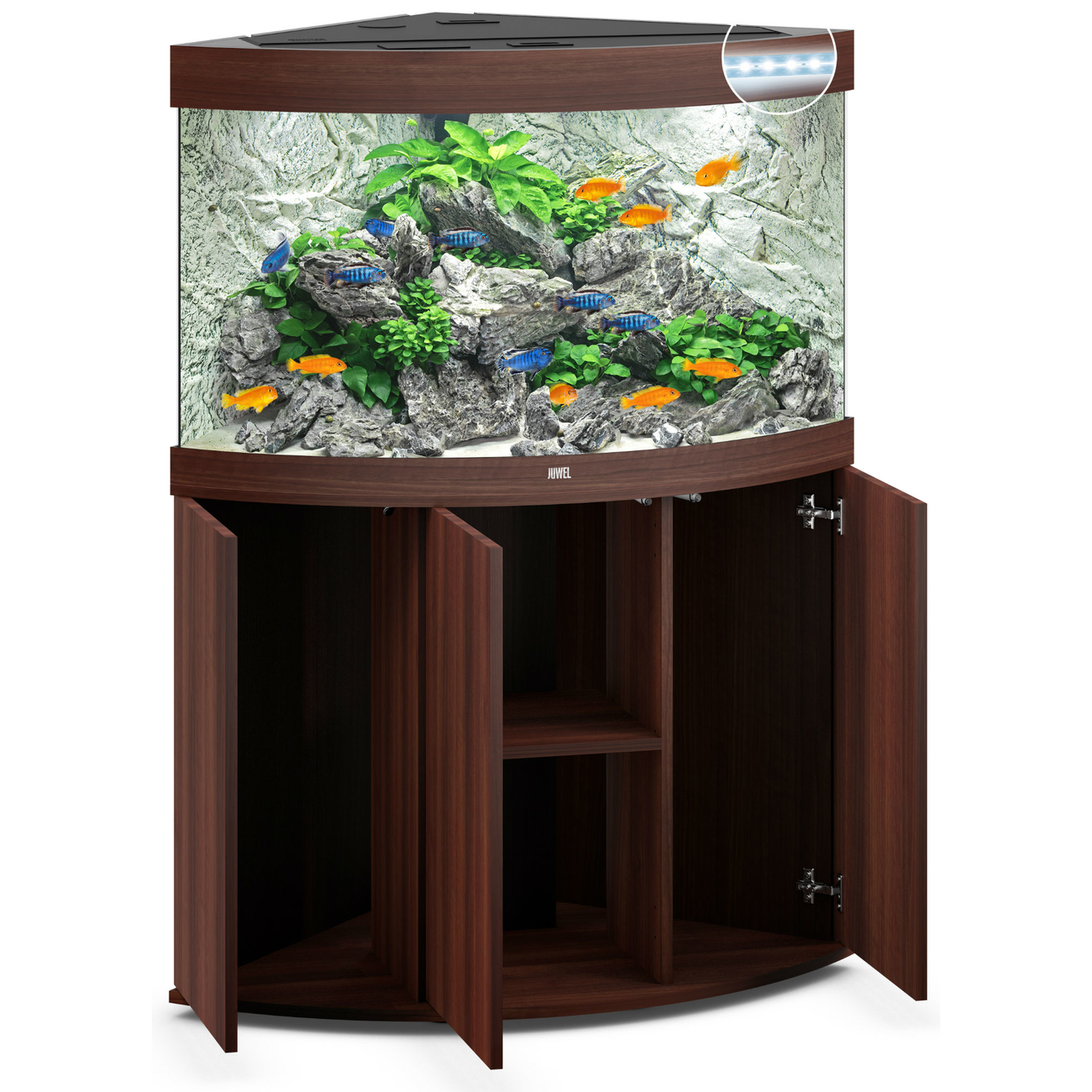 Juwel Trigon 190 LED Eck-Aquarium mit Unterschrank, Bild 16