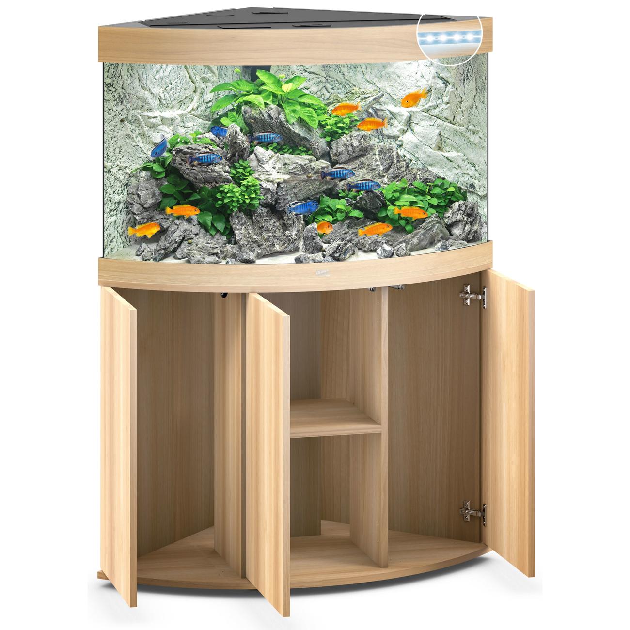 Juwel Trigon 190 LED Eck-Aquarium mit Unterschrank, Bild 12