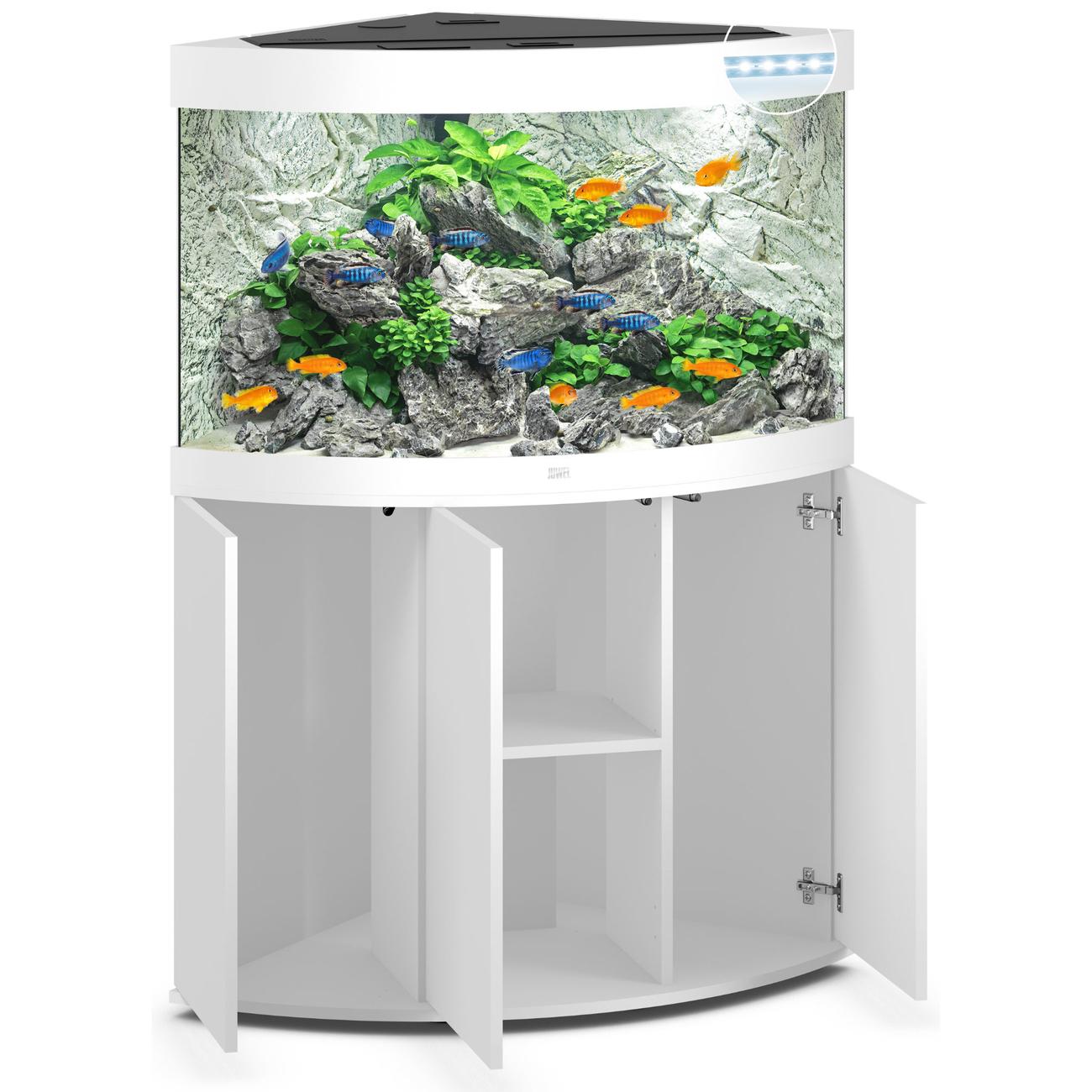 Juwel Trigon 190 LED Eck-Aquarium mit Unterschrank, Bild 9