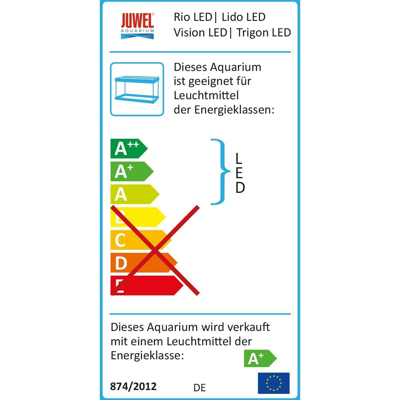 Juwel Trigon 350 LED Aquarium, Bild 14