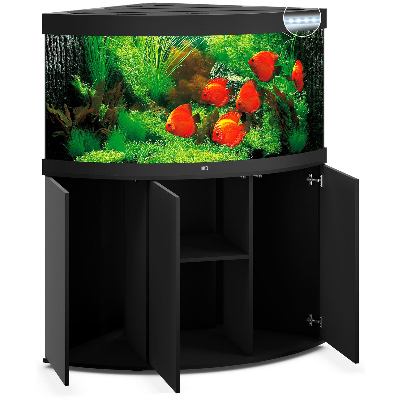 Juwel Trigon 350 LED Eck-Aquarium mit Unterschrank, Bild 3