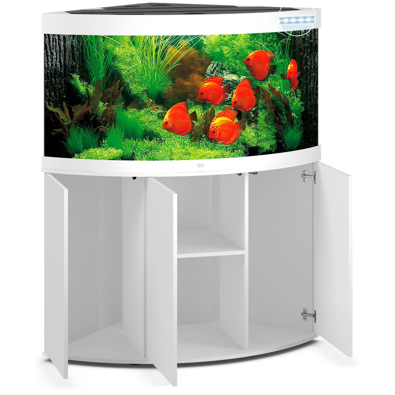 Juwel Trigon 350 LED Eck-Aquarium mit Unterschrank, Bild 8