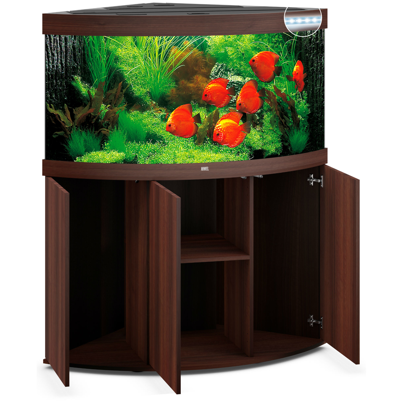 Juwel Trigon 350 LED Eck-Aquarium mit Unterschrank, Bild 17